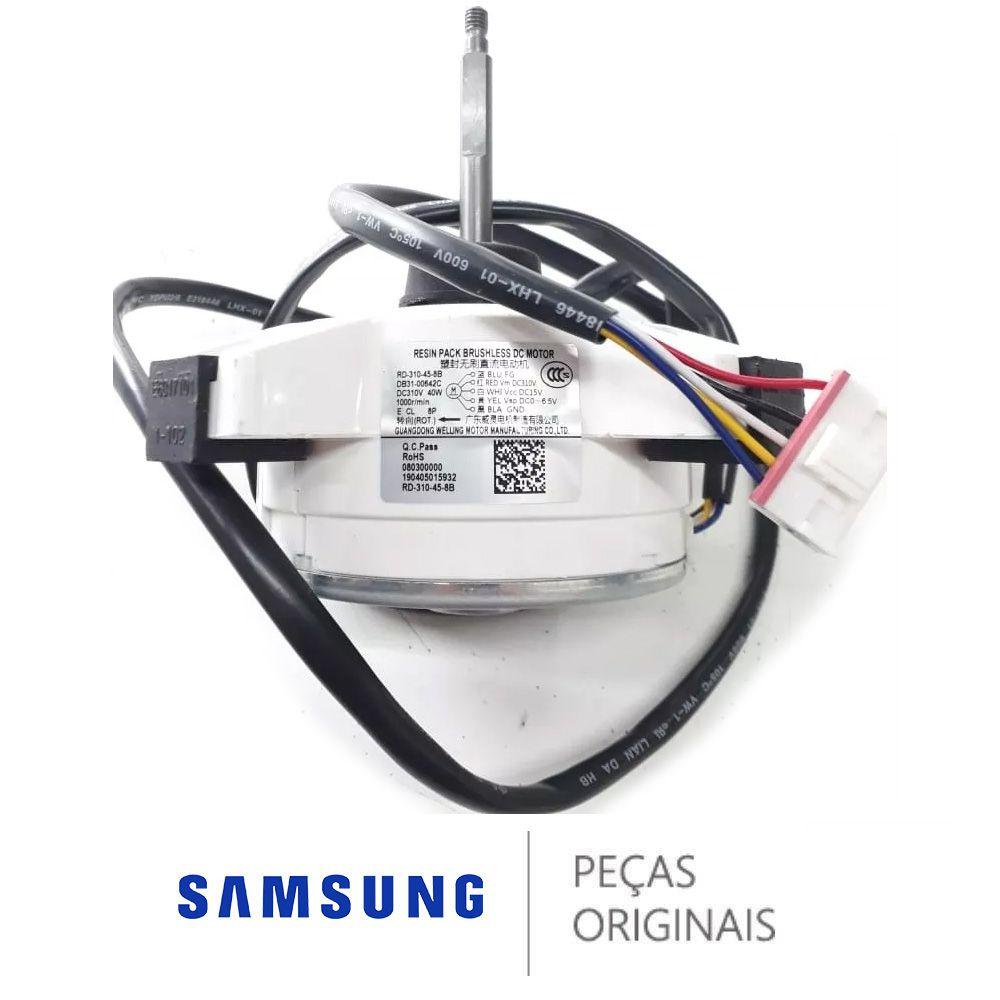 Motor Ventilador Condensadora Samsung Inverter Db31-00642c