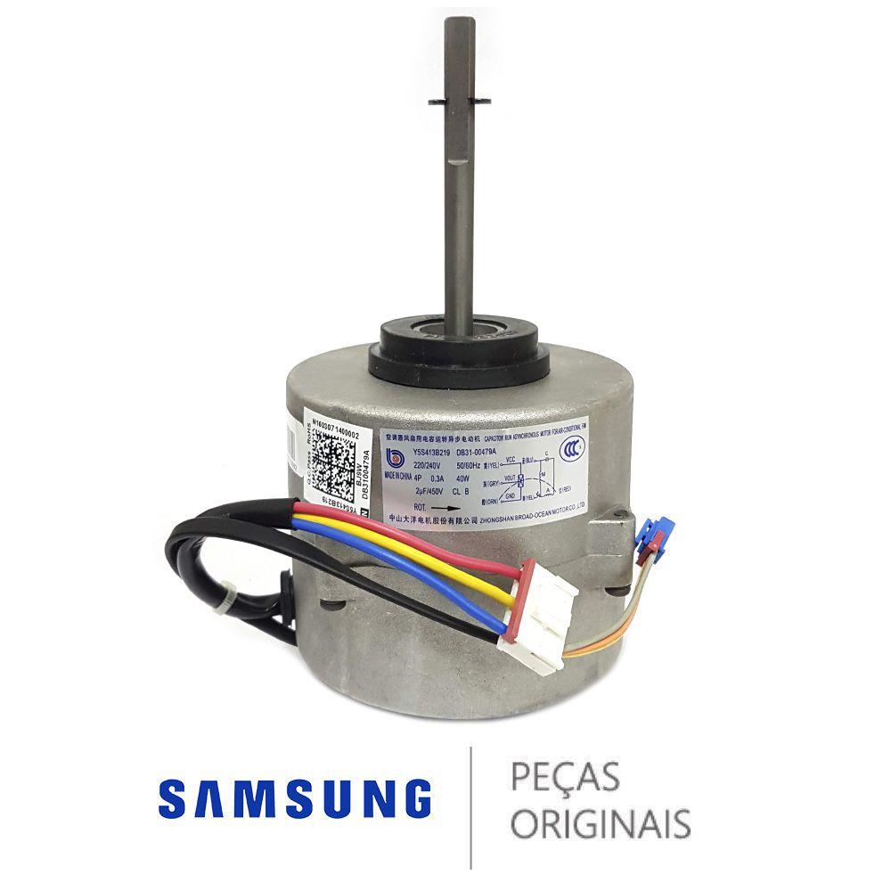 Motor Ventilador Evaporadora Ar Samsung 24000 Db31-00479a
