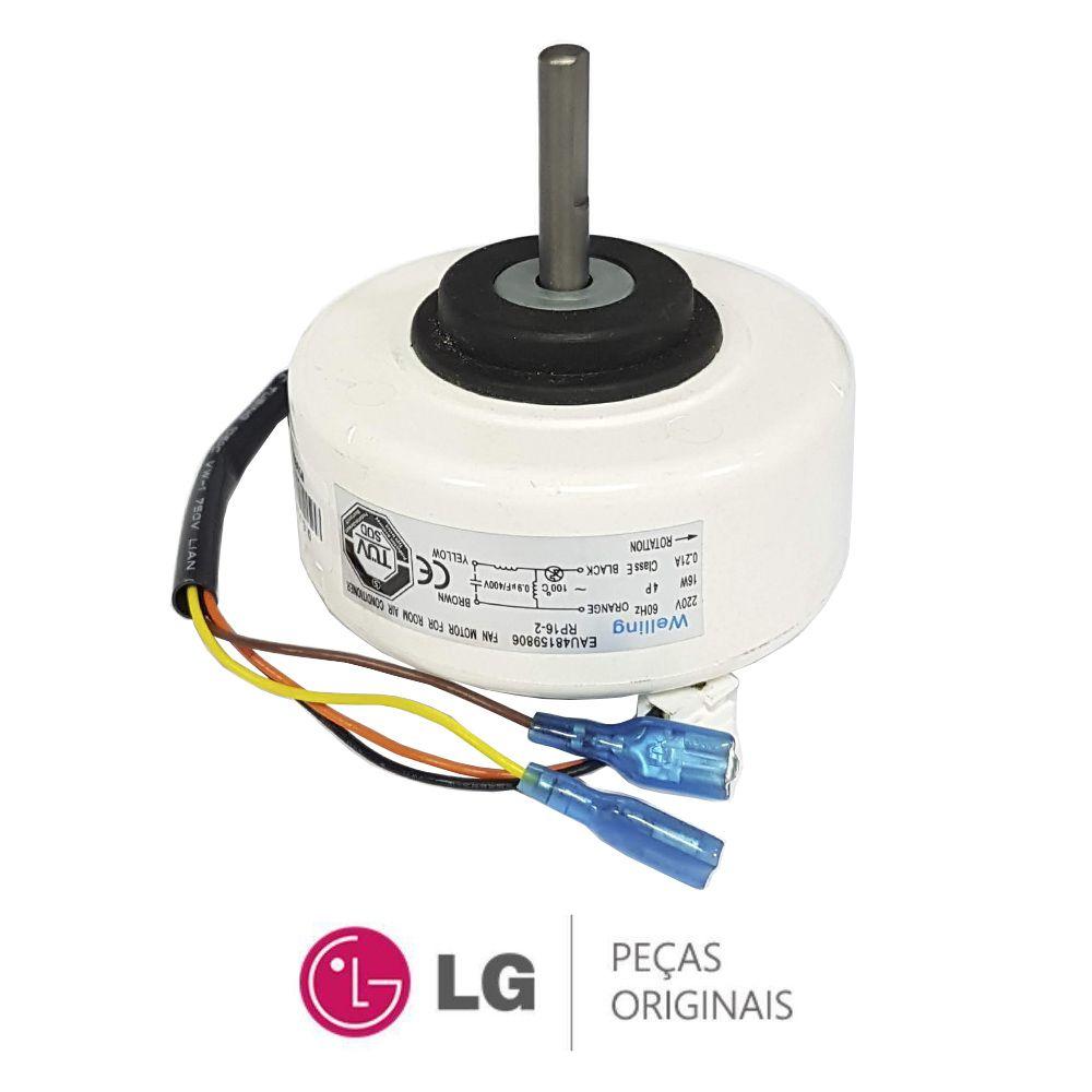 Motor Ventilador Evaporadora SPLIT Lg 9000 e 12000 Eau48159806