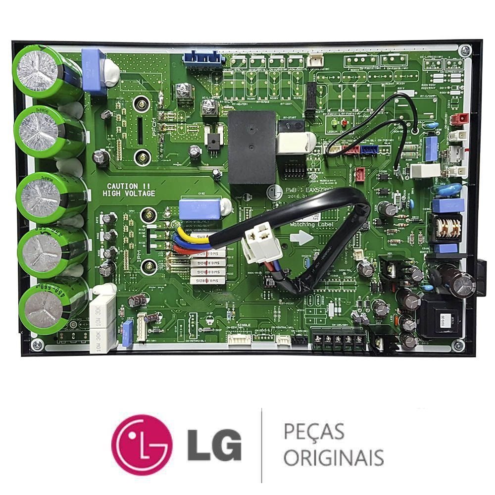 PLACA CONDENSADORA AR CONDICIONADO LG AUUQ42GH1 EBR76110514