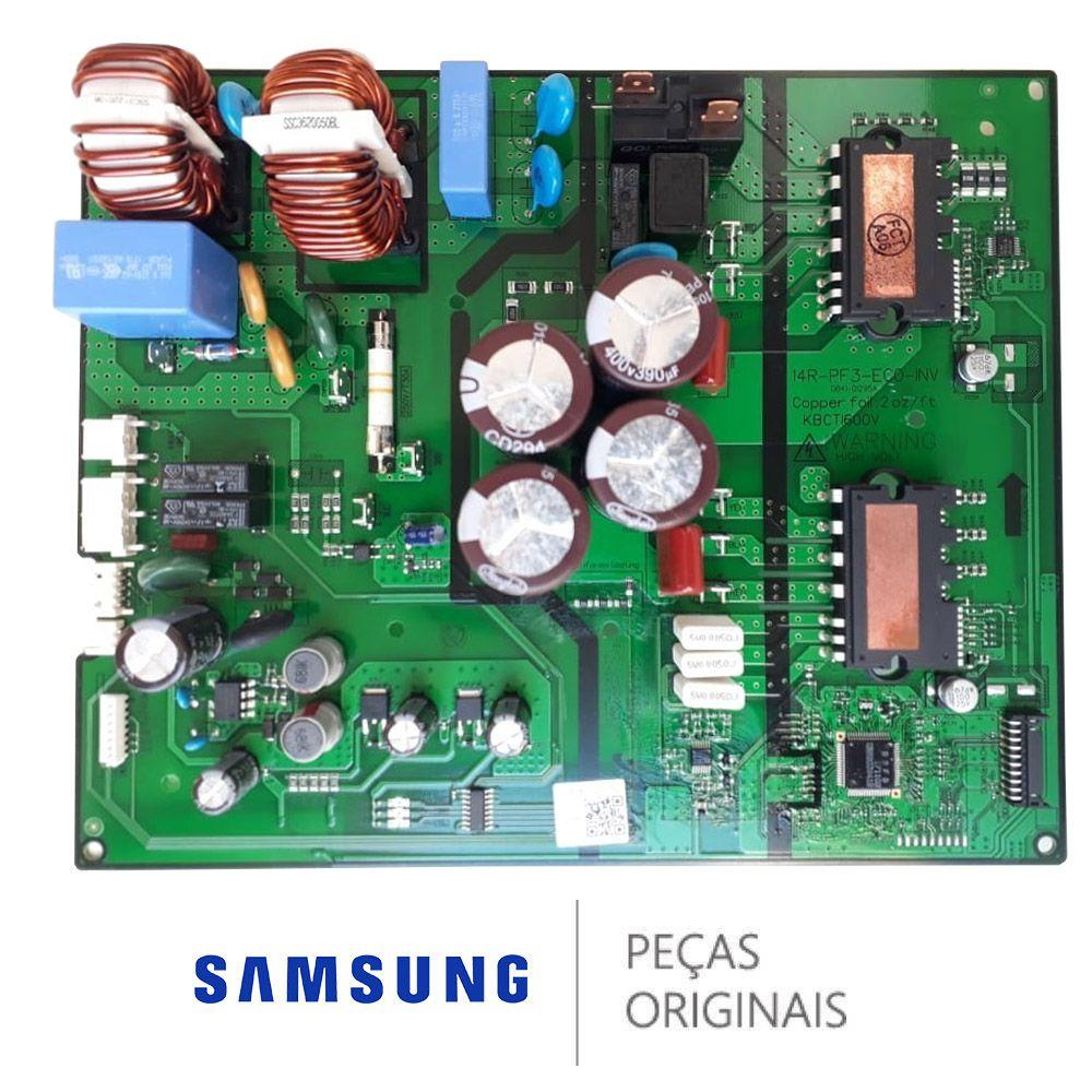 PLACA CONDENSADORA AR CONDICIONADO SAMSUNG AR24MVSPBGMXAZ DB92-03441B