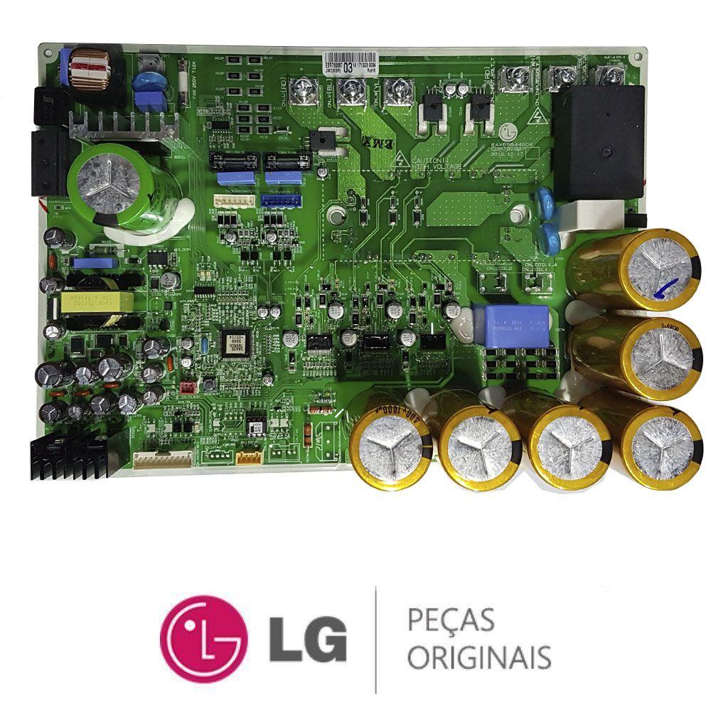PLACA CONDENSADORA INVERTER AR CONDICIONADO LG ARUN080LSS0 EBR78088703