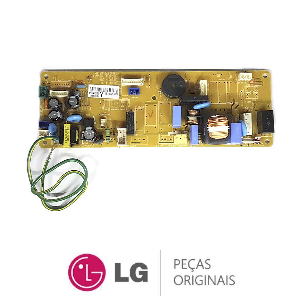 PLACA DE CIRCUITO PRINCIPAL EVAPORADORA LG - 6871A10008Y