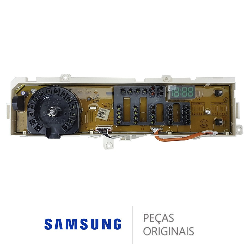 PLACA DISPLAY LAVA E SECA SAMSUNG WD10M WD11M DC92-02048H