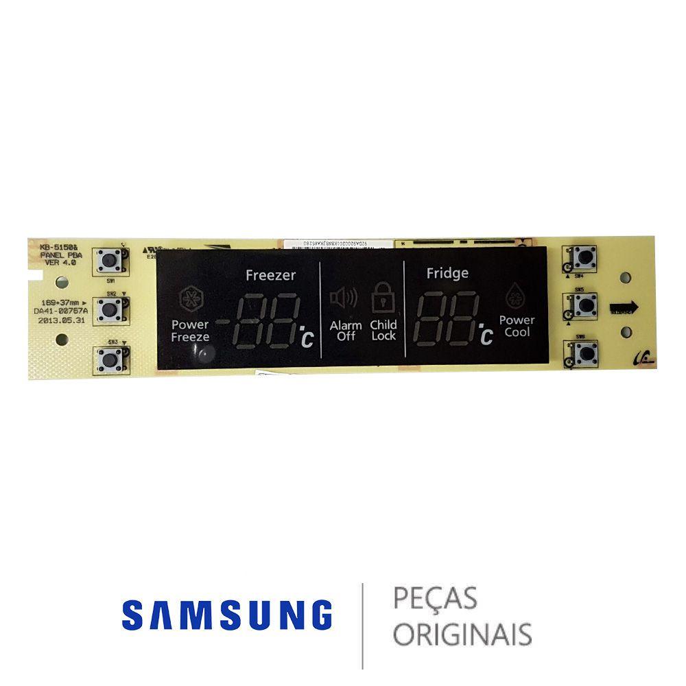 PLACA DO DISPLAY - REFRIGERADOR SAMSUNG RI62TCPN DA92-00201K