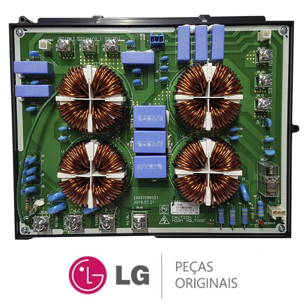 PLACA DO FILTRO DE LINHA AR CONDICIONADO LG EAM62451501