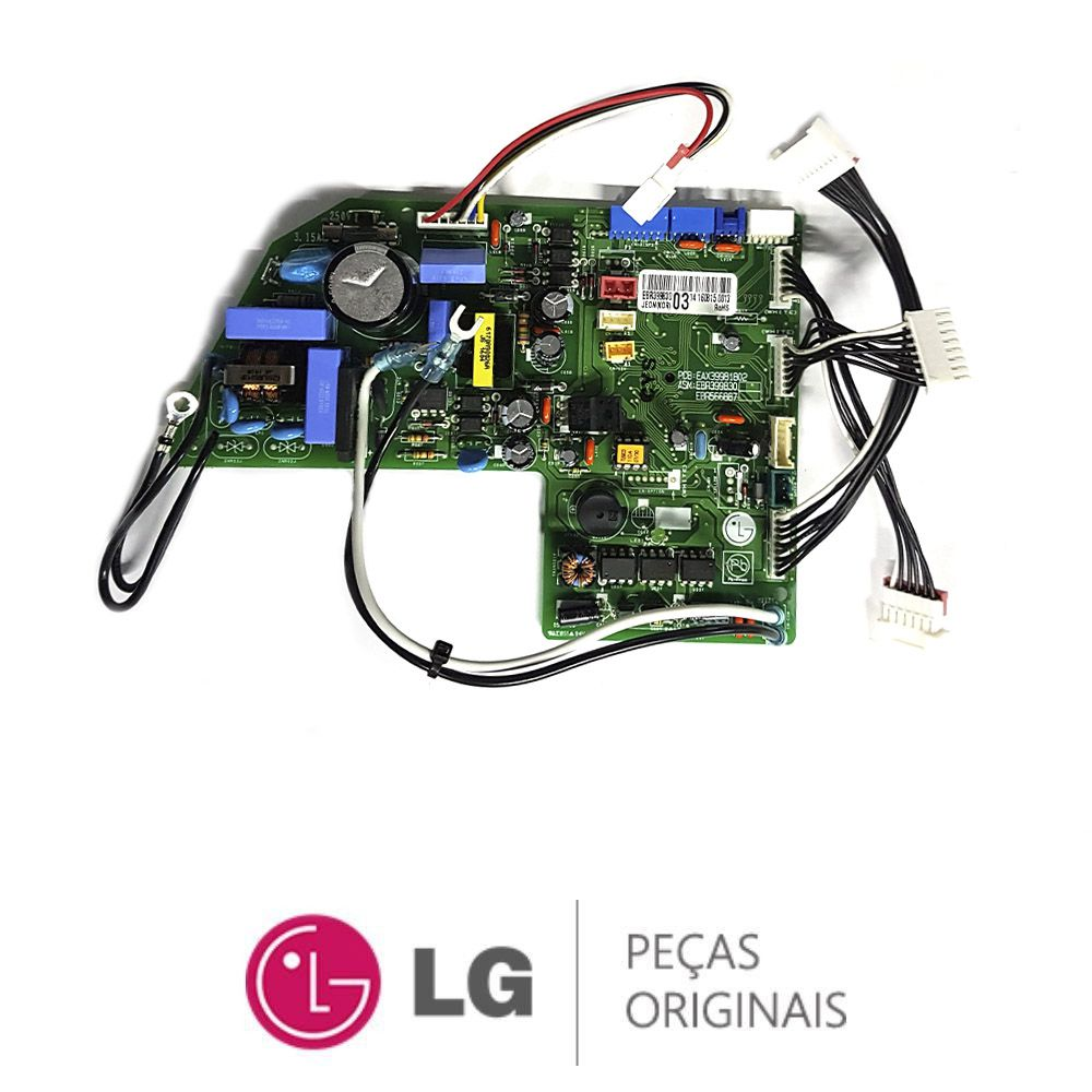 Placa Eletronica Lg ARNU18GS5L2 EBR39983003