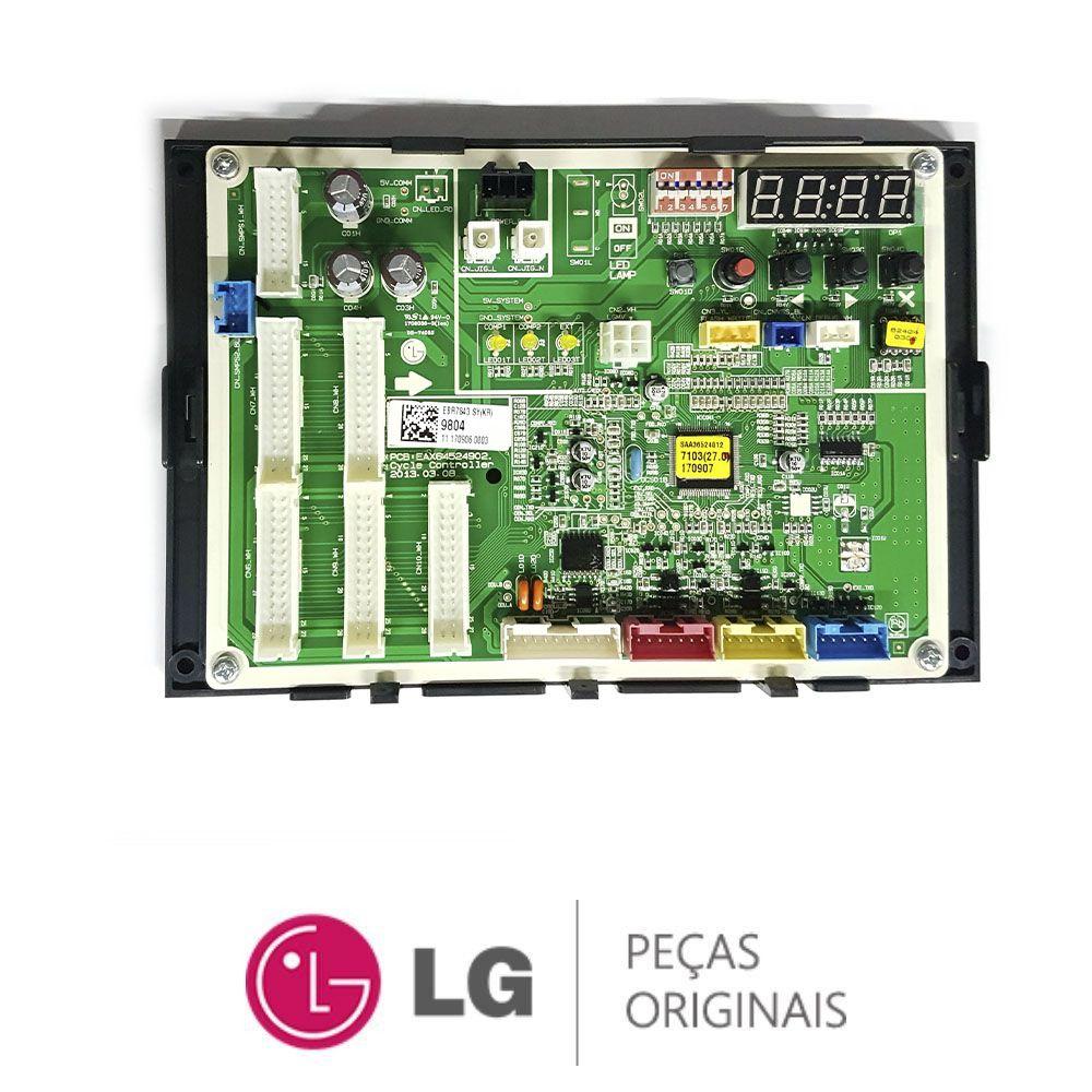 Placa Eletrônica Condensadora Lg ARUB140BTE4 EBR78439804