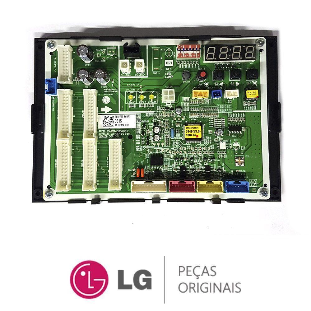 Placa Eletrônica Condensadora Lg ARUV180BTR4 EBR77693615