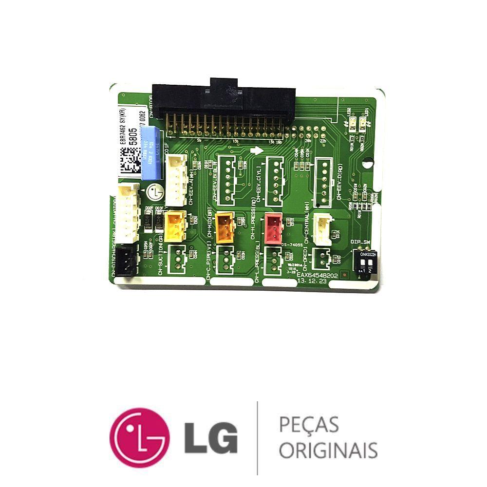 Placa Eletrônica Condensadora LG AUUQ18GH1 EBR74625805