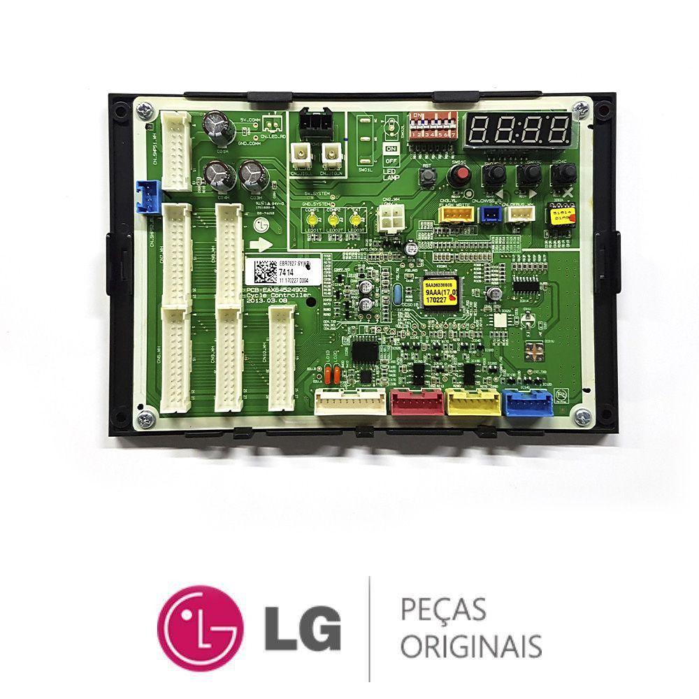 Placa Eletrônica Condensadora Lg BRWN080BAS4 EBR78277414