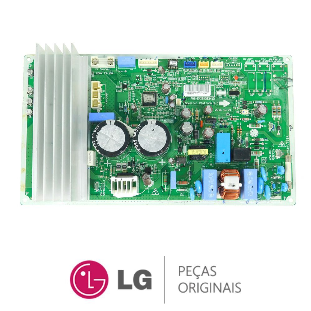 Placa Eletrônica Condensadora Lg USUQ182CSZ2 EBR76570603