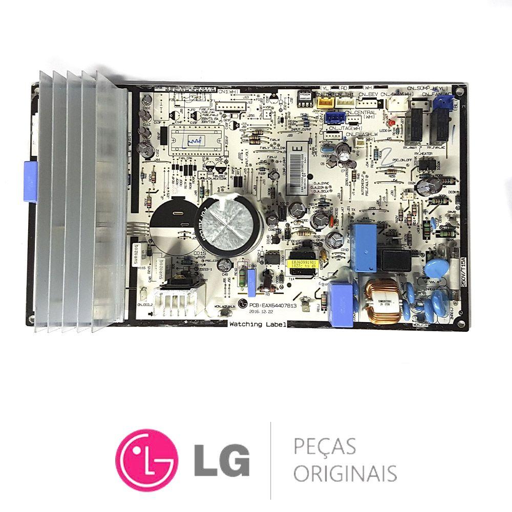 Placa Eletrônica Condensadora Lg USUW092WSZ EBR75260007
