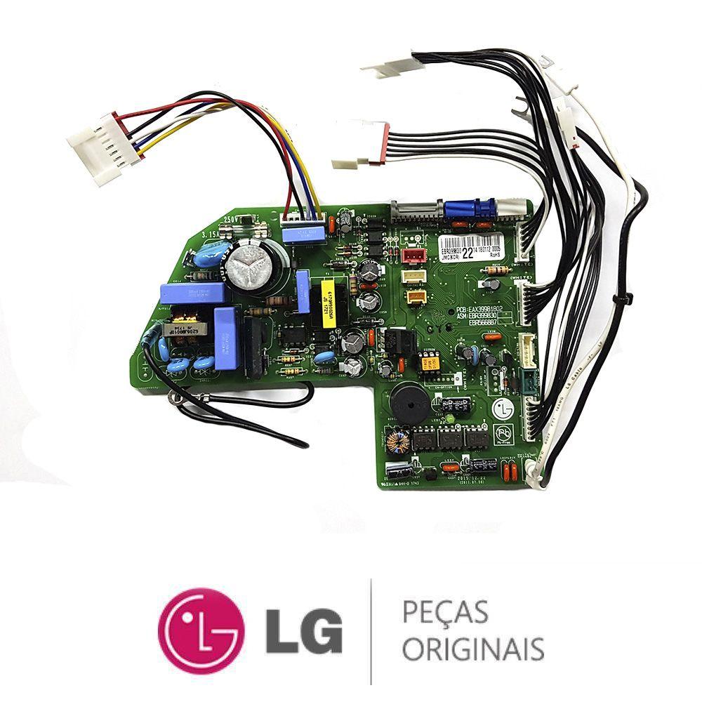 Placa Eletrônica Da Evaporadora Lg ARNU24GS8 EBR39983022