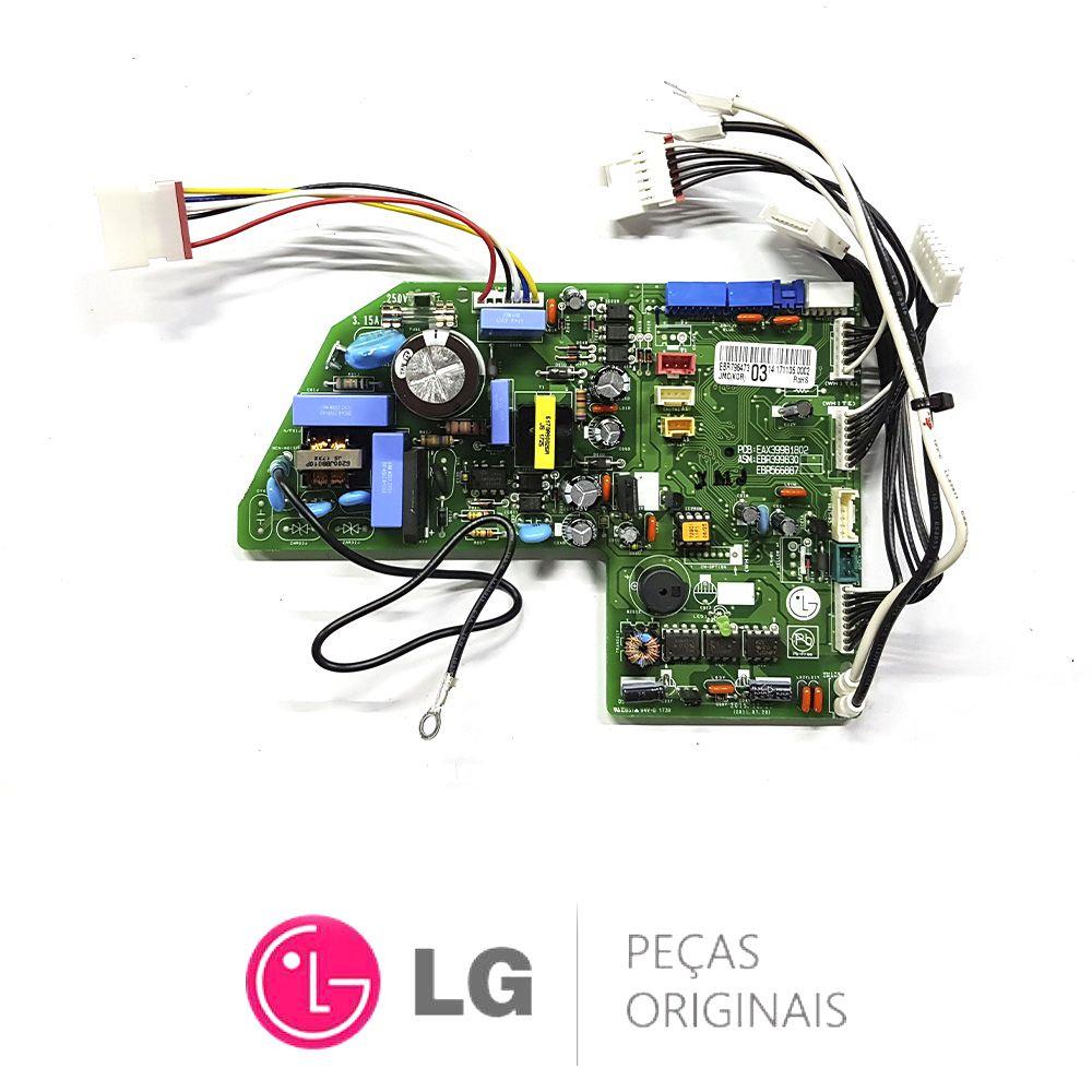 Placa Eletrônica da Evaporadora Lg Ebr79647303