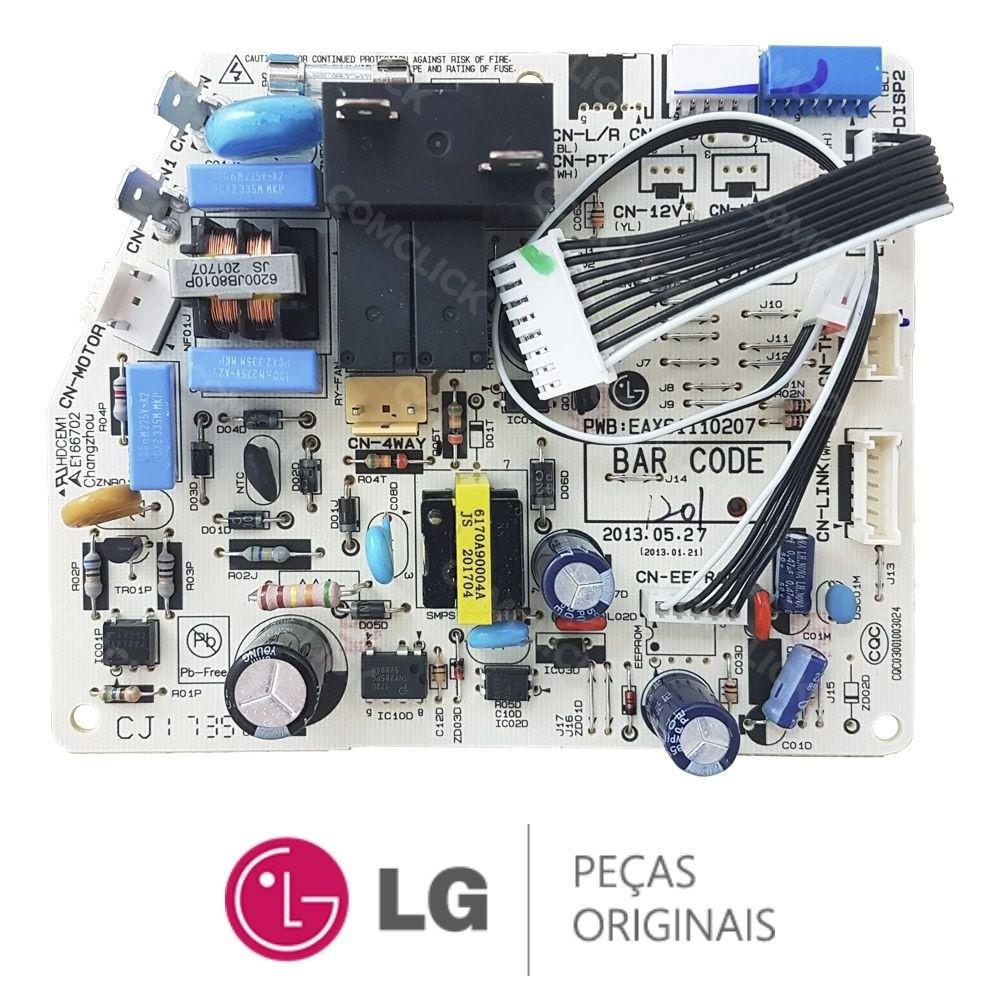 Placa Eletrônica Evaporadora Lg TS-H122YNW0 EBR76961201