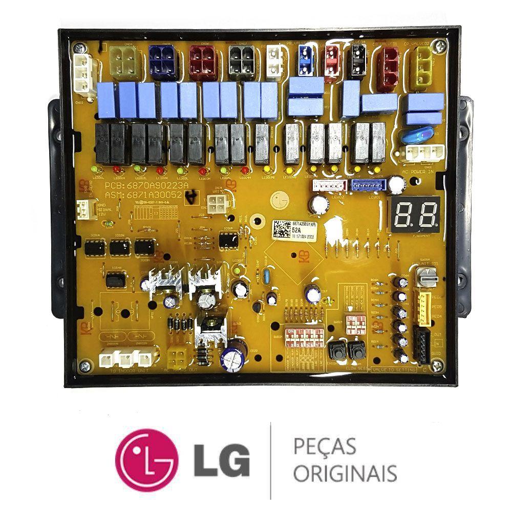 PLACA PRINCIPAL AR CONDICIONADO LG PRHR020 6871A30052A