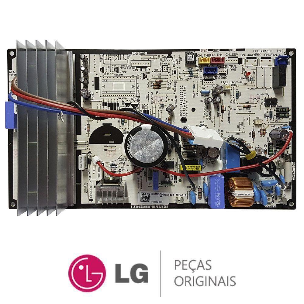 PLACA PRINCIPAL CONDENSADORA INVERTER LG AEBR71847802