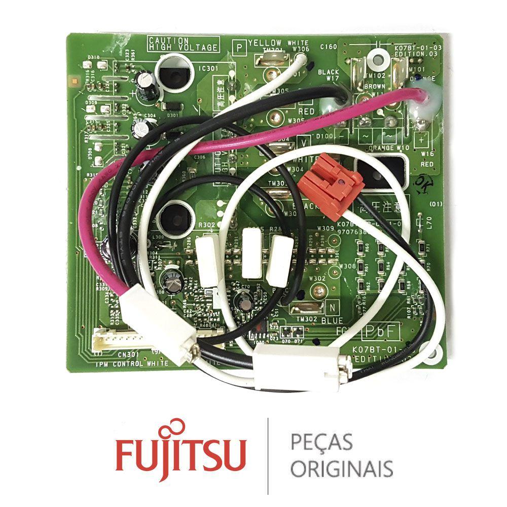 PLACA TRANSISTORA TR CONDICIONADO FUJITSU AOBA30LFTL 9709681237