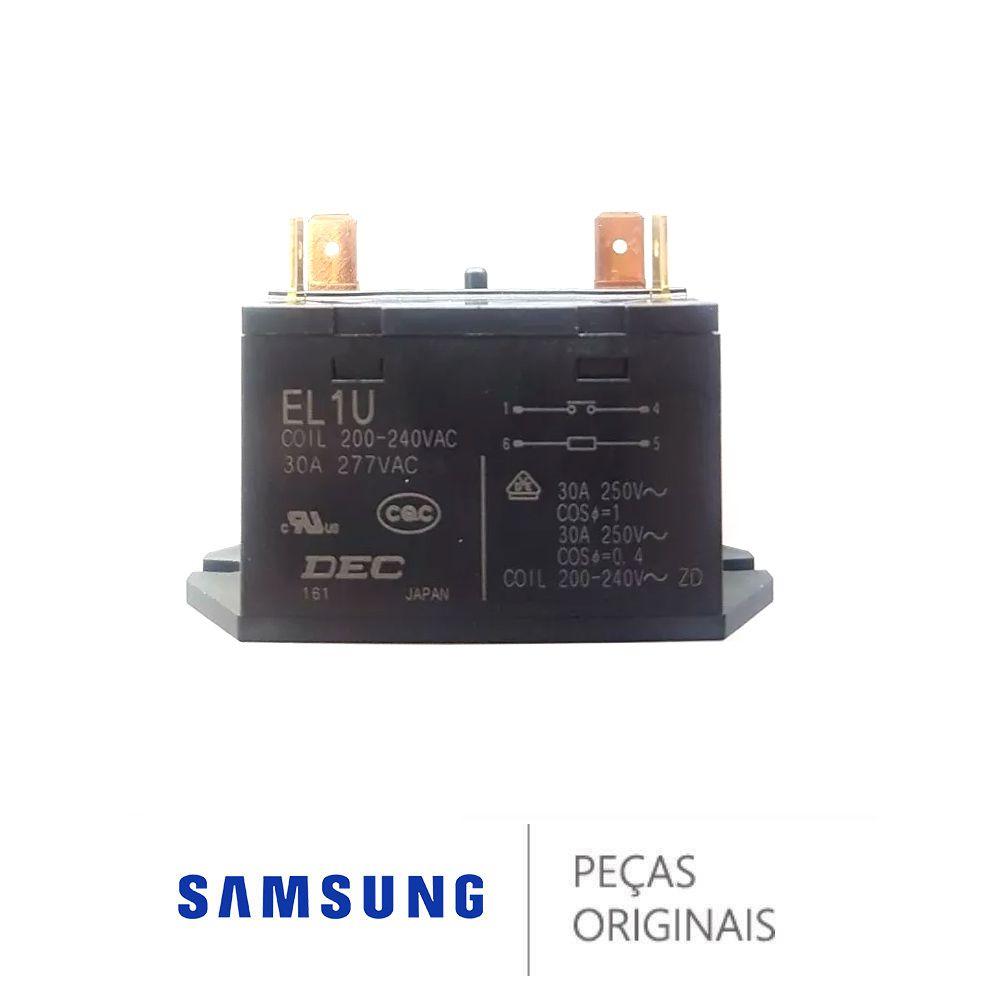 RELÊ CONTATORA AR CONDICIONADO SAMSUNG 30A 200/240V - 3501-001335