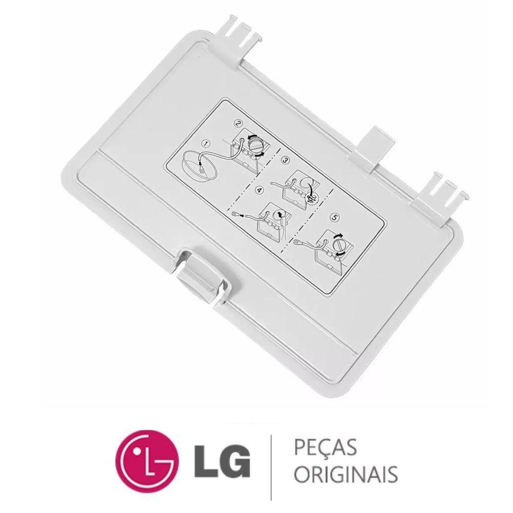 TAMPA DO FILTRO LAVA E SECA LG WD-1403FD MBL65281202