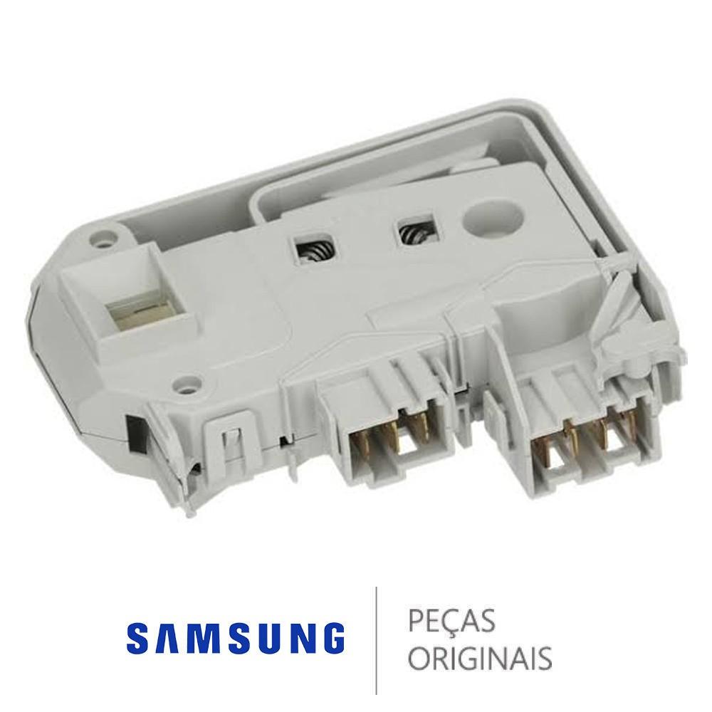 TRAVA DA PORTA LAVADORA DOOR-LOCK SAMSUNG WD-Q1456V DC64-00652D