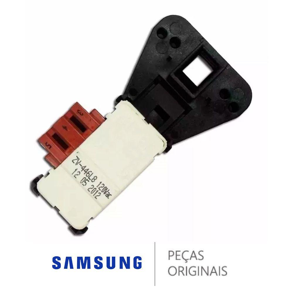 Trava Porta Lava Seca Samsung 127V Original DC64-01538B