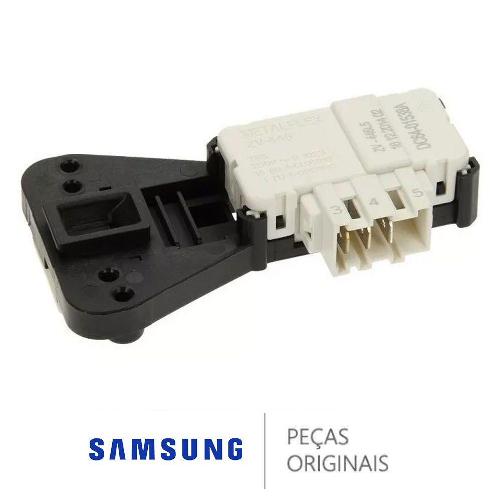 Trava Porta Lava Seca Samsung 220V Original - DC64-01538A