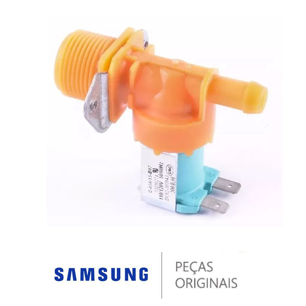 Válvula De Entrada De Água 110v Original Samsung DC62-30314J