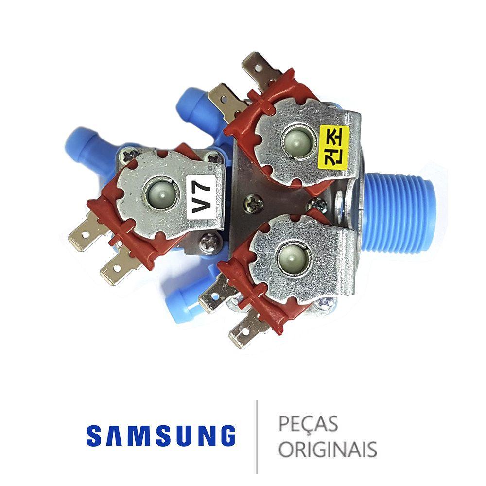 Válvula De Entrada De Água 127v Original Samsung Dc62-00142f