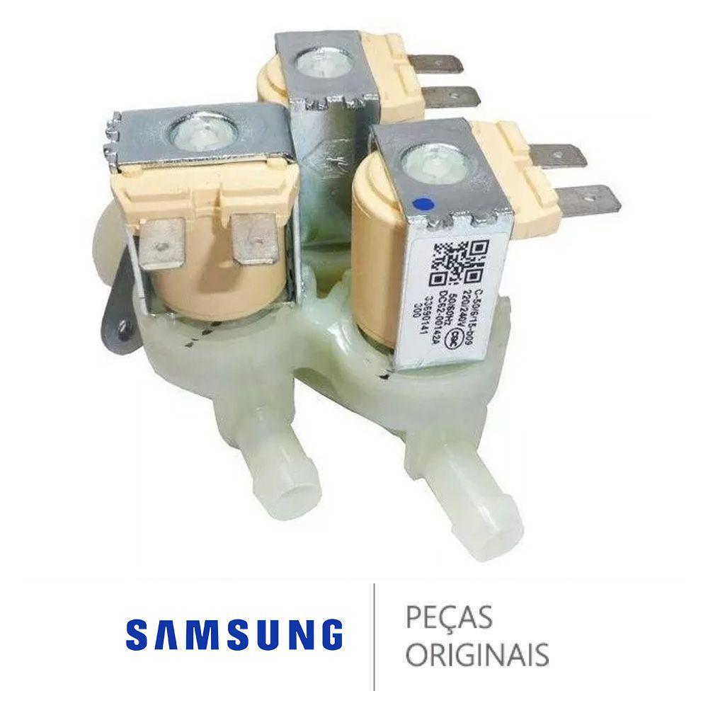 Válvula De Entrada De Água 220v Original Samsung Dc62-00142a