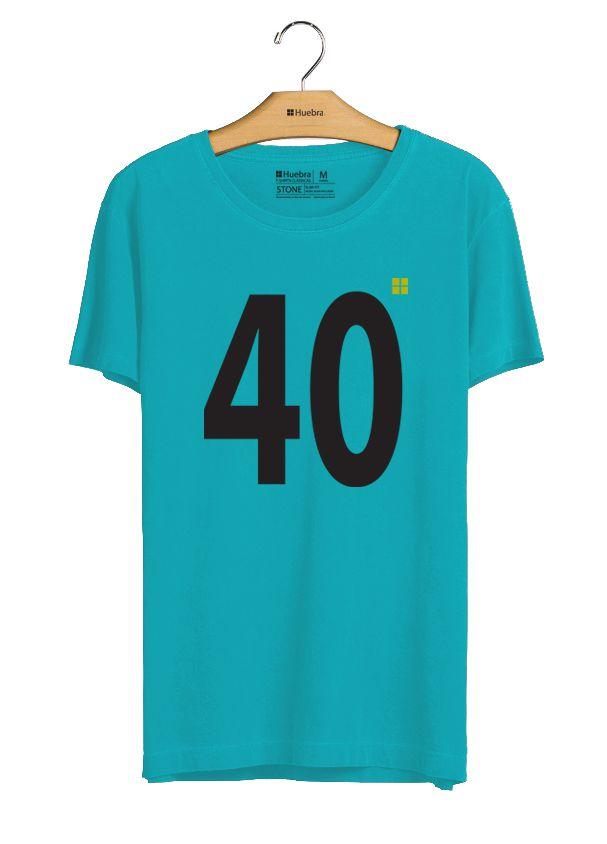 t-shirt  40 Graus fio 40