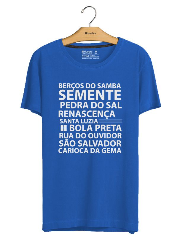 T.shirt Berços do Samba