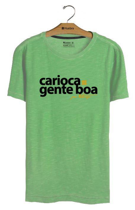 T-Shirt Carioca Gente Boa