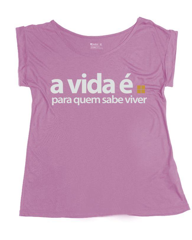 T.shirt Gola Canoa A Vida é