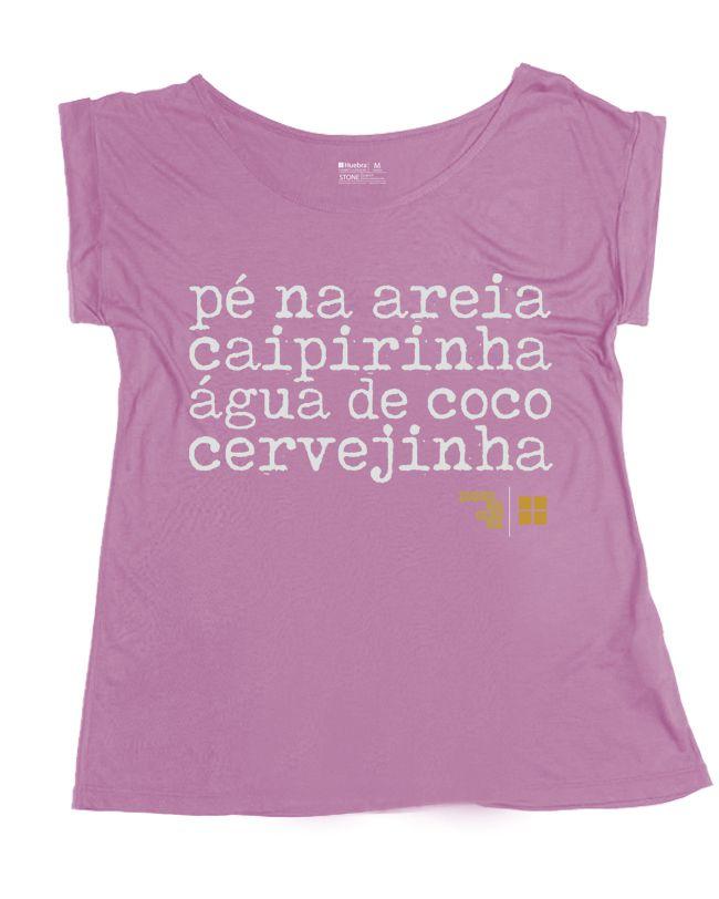T.shirt Gola Canoa Pé na Areia