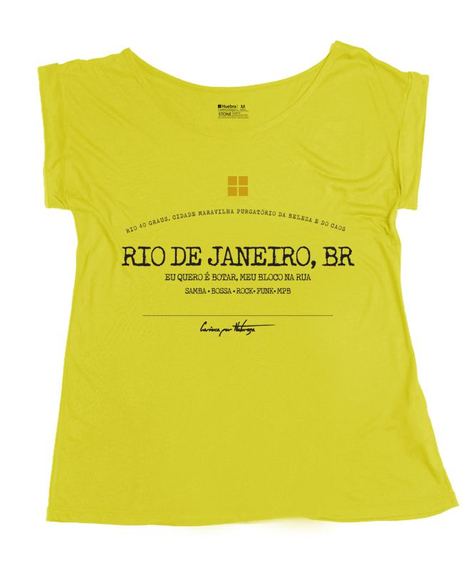 T.shirt Gola Canoa RJBR