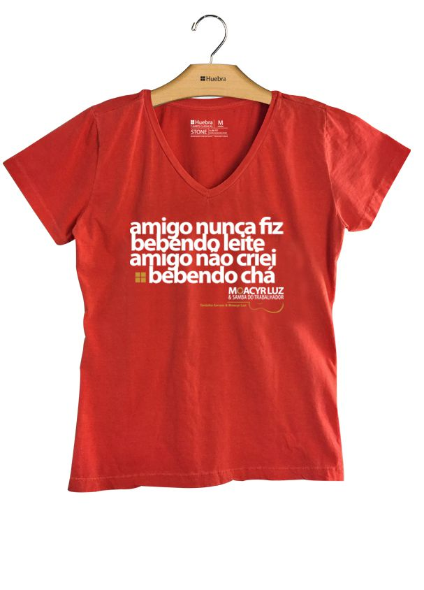T.shirt Gola V Toda Hora