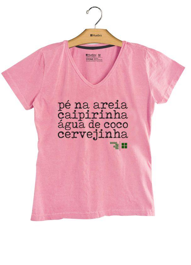 T.Shirt Pé na Areia