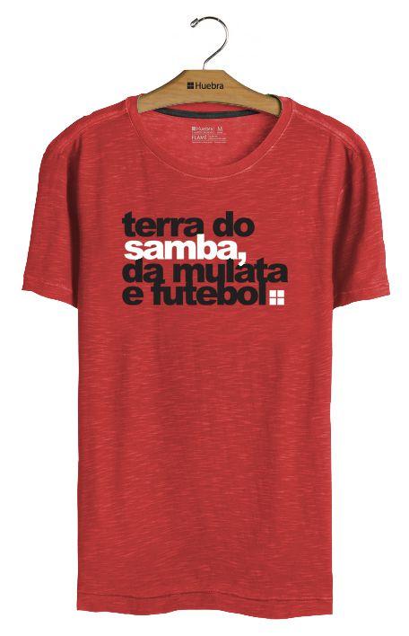 T-shirt Terra do Samba