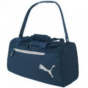Bolsa Puma Fundaments Sports Bag Azul Marinho