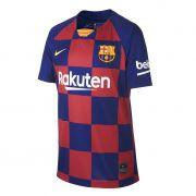 Camisa Barcelona Home Nike 2019-20 Infantil