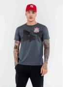 Camisa Corinthians Meia Malha Losangulo