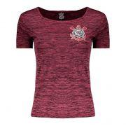 Camisa Corinthians Spr Fio Tinto Feminina