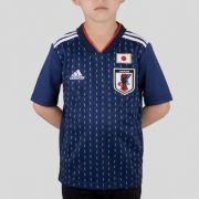 Camisa Japão Home Adidas 2018 Infantil