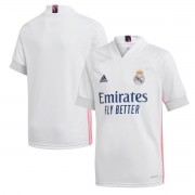 Camisa Real Madrid Home Adidas 2020-21 Infantil