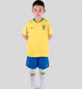 Kit Seleção Brasileiras Oficial I Infantil 2018