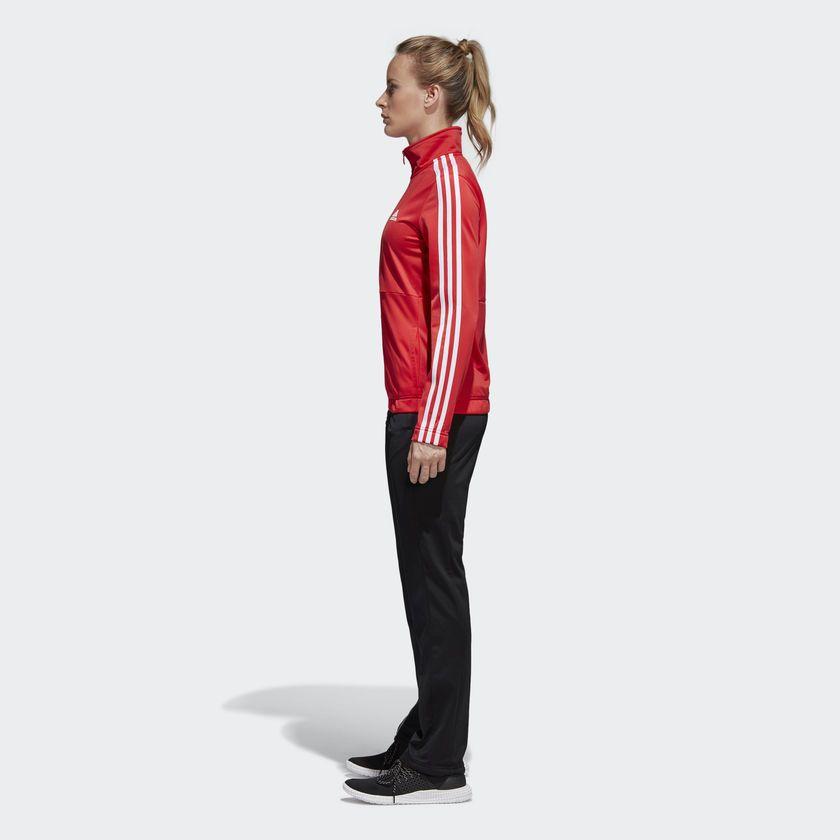Agasalho Adidas Back 2 3-Stripes Vermelho