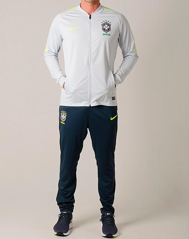 Agasalho Brasil Track Suit Nike 2018 - Futebol Cia - Paixao por Futebol ! 869ccbd92488f