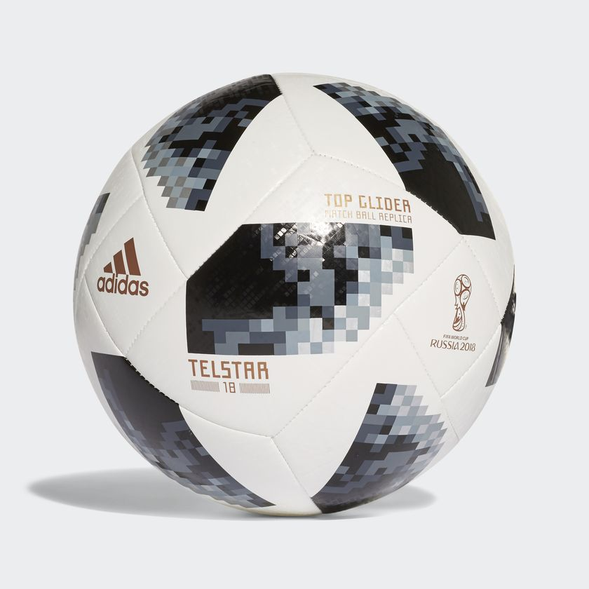 Bola Futebol Campo Adidas Telstar 18 Top Glider Copa do Mundo FIFA ... 6ecdc0b967e83